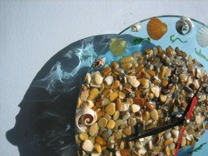 Часы настенные черноморские. Ярмарка Мастеров - ручная работа, handmade.