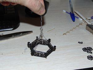 Мини мастер-класс: люстра из вырубки для чипборда. Ярмарка Мастеров - ручная работа, handmade.