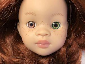 Выбираем глазки рыжеволосой Норе от Паола Рейна. Ярмарка Мастеров - ручная работа, handmade.