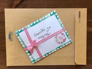 Каждая наша посылочка это маленький сюрприз. Ярмарка Мастеров - ручная работа, handmade.