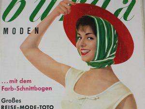 Burda moden 5/1960 Бурда Моден. Ярмарка Мастеров - ручная работа, handmade.