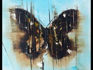Мастер-класс по интерьерной живописи! Рисуем бабочку. Ярмарка Мастеров - ручная работа, handmade.