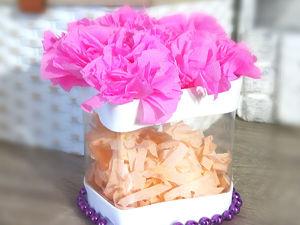Создаем упаковку в виде сердечка с нуля! Идея ко дню Святого Валентина. Ярмарка Мастеров - ручная работа, handmade.