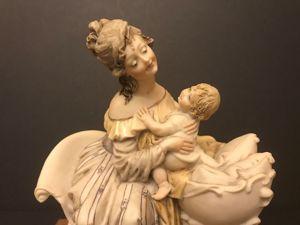 Скульптура  «Мать и дитя». Ярмарка Мастеров - ручная работа, handmade.