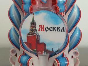 Свеча  «Москва» , необычный сувенир и подарок. Ярмарка Мастеров - ручная работа, handmade.