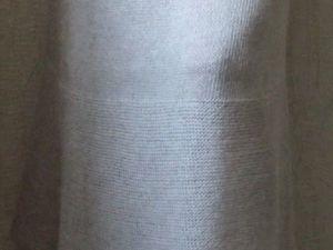 Ода прямоугольнику. Вяжем эко-юбку на машине ЛК-150. Ярмарка Мастеров - ручная работа, handmade.