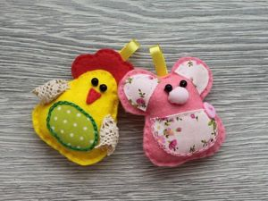 Шьем игрушки-игольницы: «Мышку-домовушку» и хозяйку года — «Курочку». Ярмарка Мастеров - ручная работа, handmade.
