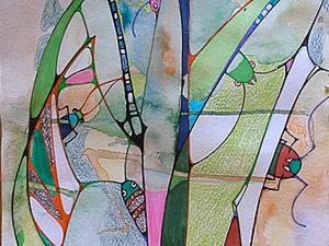 """Рисуем картину """"Путешествие муравья"""". Ярмарка Мастеров - ручная работа, handmade."""