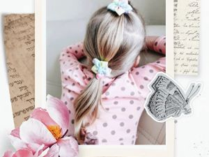 Что делать если волосы у дочки не густые, а красивых причёсок хочется?. Ярмарка Мастеров - ручная работа, handmade.