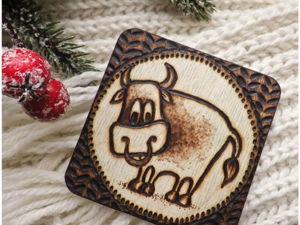 Бычок — символ2021. Ярмарка Мастеров - ручная работа, handmade.