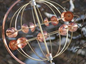 «Globe»  ветряная кинетическая скульптура. Ярмарка Мастеров - ручная работа, handmade.