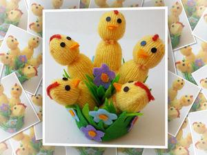 Лёгкий в изготовлении пасхальный декор — цыплята из перчаток своими руками. Ярмарка Мастеров - ручная работа, handmade.