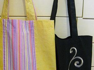 Новинка! Сумки-шопперы уже в продаже. Ярмарка Мастеров - ручная работа, handmade.