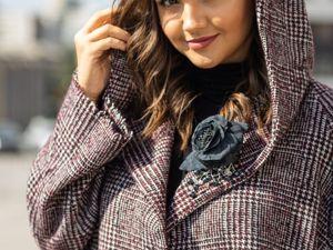 Новые шерстяные  кардиганы-пальто. Подробные фото | Журнал Ярмарки Мастеров