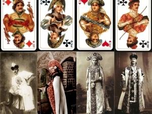 Как костюмы последнего императорского бала повлияли на создание колоды русских карт. Ярмарка Мастеров - ручная работа, handmade.