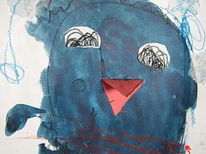 """Рисуем с малышами """"Портрет пингвина"""". Ярмарка Мастеров - ручная работа, handmade."""