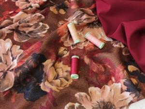 Пальтовая ткань из шерсти и кашемира. Ярмарка Мастеров - ручная работа, handmade.
