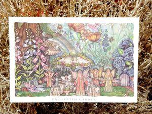 Видео. Открытка Волшебный сад,Kirks Folly,США. Ярмарка Мастеров - ручная работа, handmade.