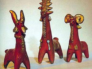 Абашевская игрушка - народный промысел. Ярмарка Мастеров - ручная работа, handmade.
