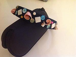 Создаем ободок из джинсы. Ярмарка Мастеров - ручная работа, handmade.