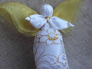 Создаем куклу-ангелочка «Добрый вестник». Ярмарка Мастеров - ручная работа, handmade.