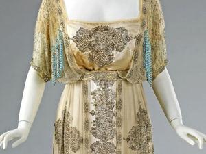 Вечернее платье в стиле Ар Нуво от Жака Дусе 1909-1911 гг. Ярмарка Мастеров - ручная работа, handmade.