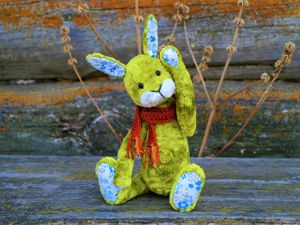 Весенний зайка. Ярмарка Мастеров - ручная работа, handmade.
