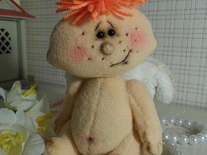 Тедди-долл «Рождественский ангелочек». Часть I. Ярмарка Мастеров - ручная работа, handmade.