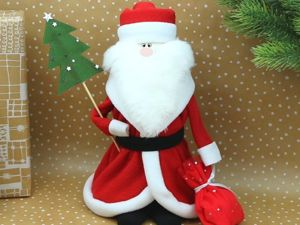 Дед Мороз из пластиковой бутылки. Ярмарка Мастеров - ручная работа, handmade.