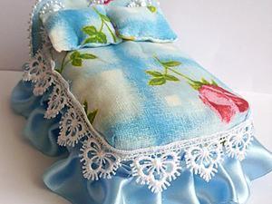 Мастерим кроватку для куколки. Ярмарка Мастеров - ручная работа, handmade.