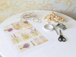 Гирлянда из флажков, или Как просто украсить любое помещение. Ярмарка Мастеров - ручная работа, handmade.