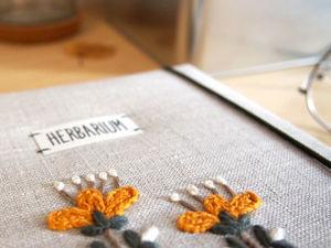 Альбом для гербария Garden. Ярмарка Мастеров - ручная работа, handmade.