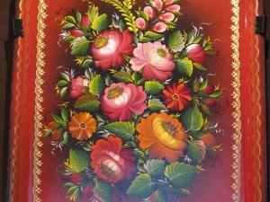 Особенности Нижнетагильской росписи в 60-70-е годы ХХ века. Часть 3. Ярмарка Мастеров - ручная работа, handmade.