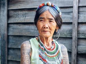 Татуировка — это единственное, что останется: отправляемся в филиппинскую деревню к столетней бабушке Ванг-Од. Ярмарка Мастеров - ручная работа, handmade.