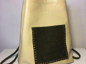 Модные тренды на рюкзаки. Ярмарка Мастеров - ручная работа, handmade.