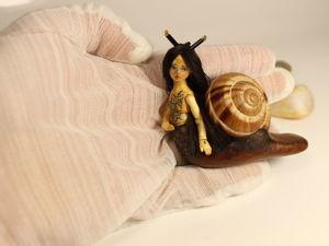 Юника — деревянная шарнирная миниатюра. Ярмарка Мастеров - ручная работа, handmade.