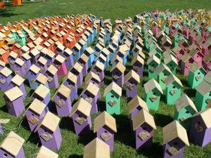 Ради птиц ничего не жалко: Томас Дамбо создал 3500 скворечников из выброшенных досок. Ярмарка Мастеров - ручная работа, handmade.