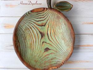 Деревянная Тарелка. Ярмарка Мастеров - ручная работа, handmade.