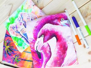 Акция ко дню влюбленных: свитшот, футболка с ручной росписью всего 2500. Ярмарка Мастеров - ручная работа, handmade.