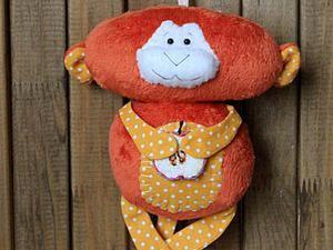 Шьем обезьянку-примитив «Рыжий Апельсин». Ярмарка Мастеров - ручная работа, handmade.