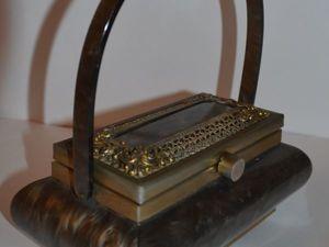 Люцит: дорогая сумка из «недорогого» материала. Ярмарка Мастеров - ручная работа, handmade.