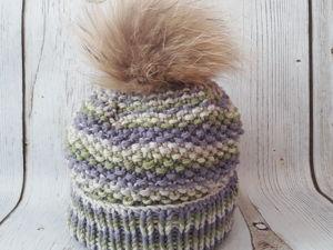 Учимся вязать шапку от макушки. Ярмарка Мастеров - ручная работа, handmade.