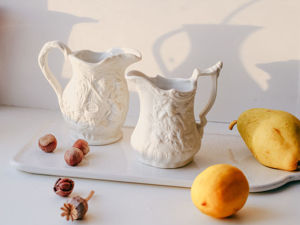 Винтажный фарфоровый белый молочник соусник кувшинчик Portmeirion Англия. Ярмарка Мастеров - ручная работа, handmade.
