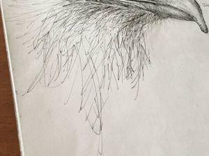 Птица-секретать. Факты через искусство. Ярмарка Мастеров - ручная работа, handmade.