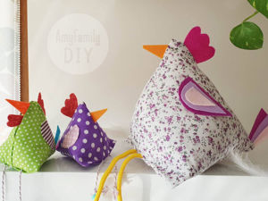 How to Create Easter Chicken without Sewing. Livemaster - handmade
