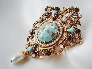 Brooches: A Fashionable Accessory from a Granny's Jewelry Box. Livemaster - handmade