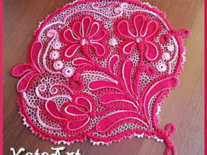 Вяжем ирисы тунисским вязанием. Часть 2. Ярмарка Мастеров - ручная работа, handmade.