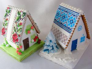 Делаем пряничные домики: зимний и летний. Часть 1. Ярмарка Мастеров - ручная работа, handmade.