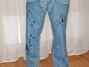 Лечим любимые джинсы. Ярмарка Мастеров - ручная работа, handmade.