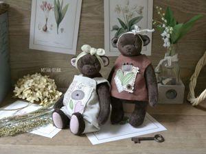 Скидка 30% на пару мишек — подарок для двух сестёр. Ярмарка Мастеров - ручная работа, handmade.